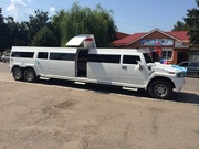 Аренда Мега хаммер лимузин с летником в Виннице,
