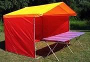 Палатки торговые, агитационные ( производим + доставка)